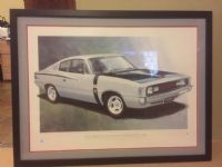 Photograph for listing 'Ltd Fred Briggs E49 Charger Art Work'