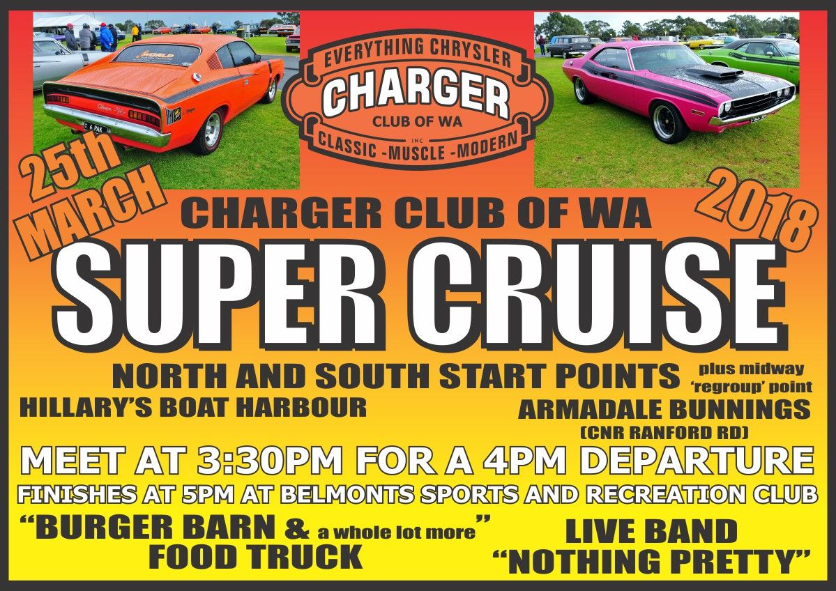 Welcome: Charger Club of WA